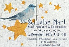 Der Schwalben Weihnachts Markt fand am 12.12.15 in der Sulzer Halle 1020 in Winterthur statt. Über 100 Handmader und Kunsthandwerker zeigten einem grossen Publikum ihre Kreationen. Winterthur, Halle, Rooster, Workshop, Diagram, Animals, Design, December 12, Craft Items