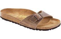 Birkenstock  Tobacco Oiled Leather  Madrid   Birkenstocks aren't actually my style, but they're so damn comfortable.