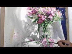 Стекло акварелью... Shin Jong Sik. Видео-Уроки. Обсуждение на LiveInternet - Российский Сервис Онлайн-Дневников