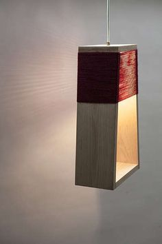Yarn-Wrapped Lamp