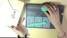 Scrap tutorial:Scatola 3d di grandi dimensioni con envelope punch board ...