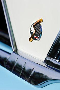 1952 Studebaker Emblem - Car Photographs by Jill Reger