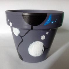 Pot pour plantes diamètre 10cm artsoofresh gris