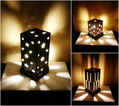 Diy Cardboard Lamp Shade