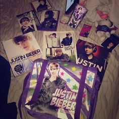 Just Bieber Fan Stuff! Just some things back when Justin Bieber first came out really neat and in very good condition. Other