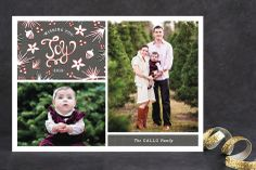 Winter Branch Collage Christmas Photo Cards by Wendy Van Ryn at minted.com