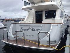 Sound Travels #oceanalexander #boatname #seattle