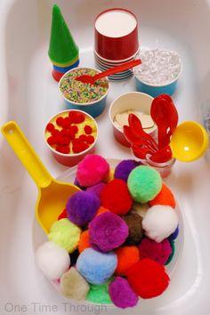 Pompom Ice Cream Kids Play