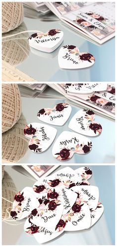 Mr and Mrs Silhouette Favours etc Wedding Personalised 35 x 35mm stickers