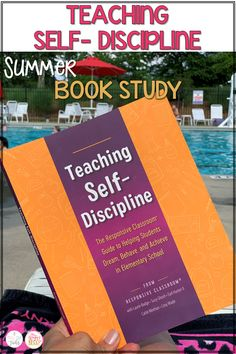 Professional book study for teachers! Make classroom management easy with actionable strategies and tips from the book Teaching Self Discipline. #classroommanagement #behaviormanagementideas #positivedisciplineideas