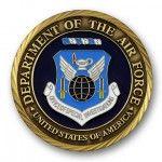 Air Force Department 3D Coin