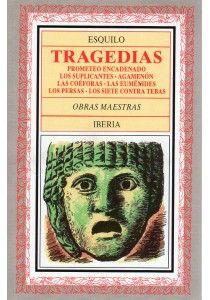 Las siete tragedias de Esquilo, las únicas que han llegado a nosotros de la copiosa producción de este autor. Con ellas ha bastado para que Esquilo sea considerado uno de los primeros poetas de la humanidad y el más destacado en la gloriosa trinidad de los trágicos griegos.