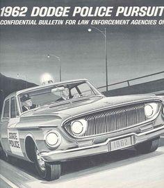 1962 Dodge Police Car #60s #police