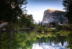 Yosemite National Park - Reflection in Yosemite Find me on <a…