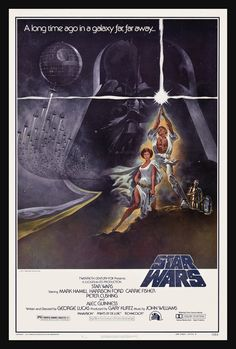 Star Wars Oldschool Poster...I should own one of these