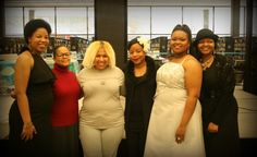 """The lovely ladies in my project """"In Her Words"""" (left to right) Anisha Newbill, Colie Williams, Naomi Rose, Quineice, Nia Simmons and Tracy Chiles McGhee"""