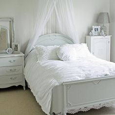 Bon French Provincial Bedroom With A Chandelier White Bedroom Design, White  Bedroom Furniture, Bedroom Decor