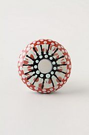 I love the Anthropologie collection of knob. Thinking of changing all the saaad knobs on my big black chest of drawers. Mismatch or matchy matchy?