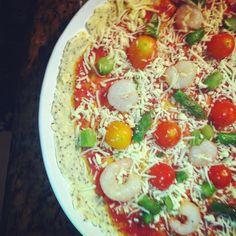 Kcalories by Catarina Lopes: Pizza sem glúten e sem lactose