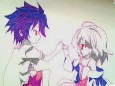 Sora & shiro <3