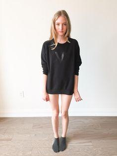 The Super V Sweater