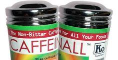 Caffeine Powder Sprinkles On Food Like Salt and Pepper -