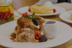 Our Japanese pancakes are made-to-order with organic eggs delivered fresh daily to our store. Visit our Toronto cafe for souffle & Japanese pancakes handmade from delectable ingredients. Toronto Cafe, Downtown Toronto, Japanese Pancake, Japanese Menu, Fuwa Fuwa, Organic Eggs, Pancakes, Breakfast, Food