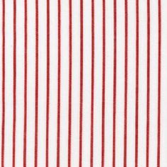 Red and whit pinstripes   Red Stripe Pinstripe Sheet Set