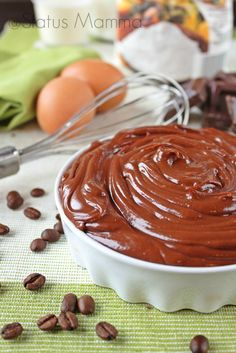 Crema al cioccolato fondente e caffé | Status mamma
