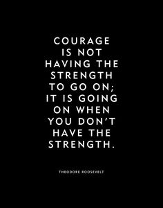 """Motivational Quote Poster Print """"Courage"""" Theodore Roosevelt Home Decor Wall Art Word Art - Quotes - - Strong Quotes, Wise Quotes, Words Quotes, Positive Quotes, Funny Quotes, Art Quotes, Status Quotes, Crush Quotes, Daily Quotes"""