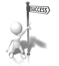 Success is that-a-way