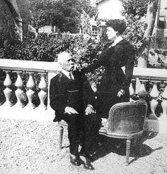 Carmen Romero Rubio and Porfirio diaz