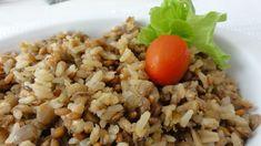 Arroz integral com lentilhas | Acompanhamentos > Lentilha | Receitas Gshow