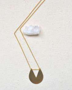 Shape One Necklace
