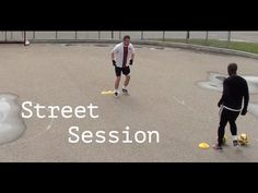 Check out this street session I did with my friend and do the same with yours (TAG your friend to watch this video) - https://www.youtube.com/watch?v=OTmFndW8fqk