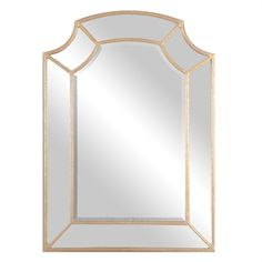 The Uttermost Francoli Gold Arch Mirror has a lovely inch bevel and a hand forged metal frame with scooped corners. Wall Mirrors Entryway, Arch Mirror, Rustic Wall Mirrors, Round Wall Mirror, Mirror Set, Beveled Mirror, Mirror Glass, Mirror Ideas, Bedroom Mirrors