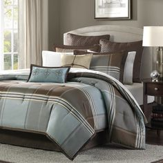 Depiction of Popular and Comfortable Bedding Set for Men