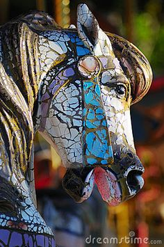 Weathered Carousel (Robert Clay)