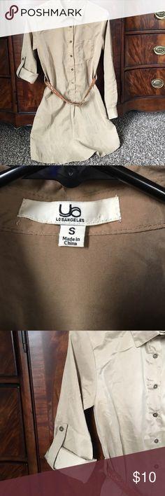 Women's tunic. Stylish Khaki Tunic, is absolutely gorgeous. Ya Los Angeles Tops Tunics