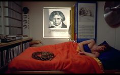 Beethoven, Alex et son serpent – Orange mécanique, Stanley Kubrick (1971)