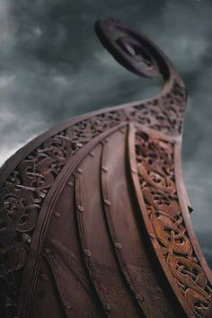 A Viking ship was built beside a river or an inlet of the sea. A tall oak tree…