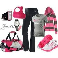 Pink Workout Outfit