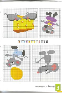 For children ... cross stitch (p 100.) | Learn Crafts is facilisimo.com