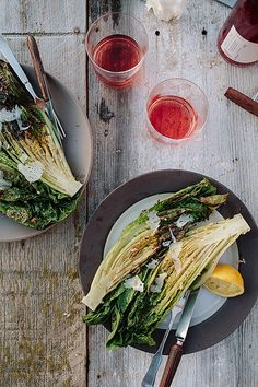 Grilled Caesar #Salad.  Find local #cooking #schools on #Educator #Hub [EducatorHub.com]