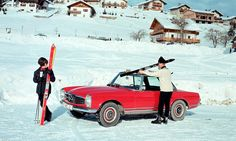 The Mercedes-Benz 230 SL, presented in March 1963 in Geneva, rapidly became known by its nickname,