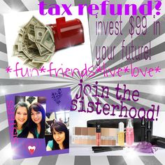 tax refund?  invest in your future!