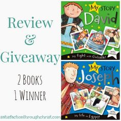 My Story Joseph & My Story David Review & Giveaway