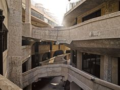 1933 Shanghai Slaughterhouseby Georg BodensteinLocated in the historic Hongkou District, 1933 Shanghai, this solid construction was built amidst the vibrant urban landscape of pre-communist Shanghai. Urban Landscape, Shanghai, Stairs, Construction, Building, Design, Behance, Home Decor, Space