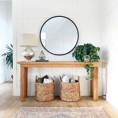 Home Remodel Living Room These 5 small space entryway essentials keep this interior designer organized year-round.Home Remodel Living Room These 5 small space entryway essentials keep this interior designer organized year-round Interior Design Inspiration, Home Decor Inspiration, Decor Ideas, Decorating Ideas, Hallway Decorating, Furniture Inspiration, Interior Ideas, Room Ideas, Design Ideas