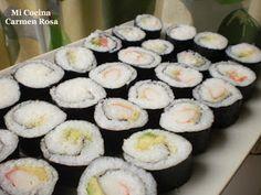 Ideas que mejoran tu vida Vegetarian Recipes, Snack Recipes, Healthy Recipes, Snacks, Healthy Dishes, Healthy Eating, Chinese Food, Deli, Catering